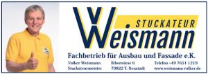 Stuckateur Weismann